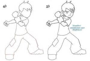 draw ben 10 step step arcmel
