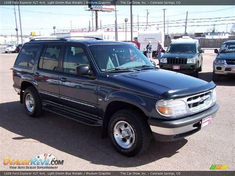 ford explorer light 1998 ford explorer xlt 4x4 light denim blue metallic