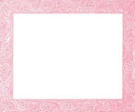 Antique pink frames pink frame clipart