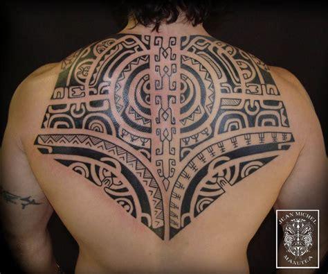 polynesian back tattoo tatouage polynesien polynesian marquesan back