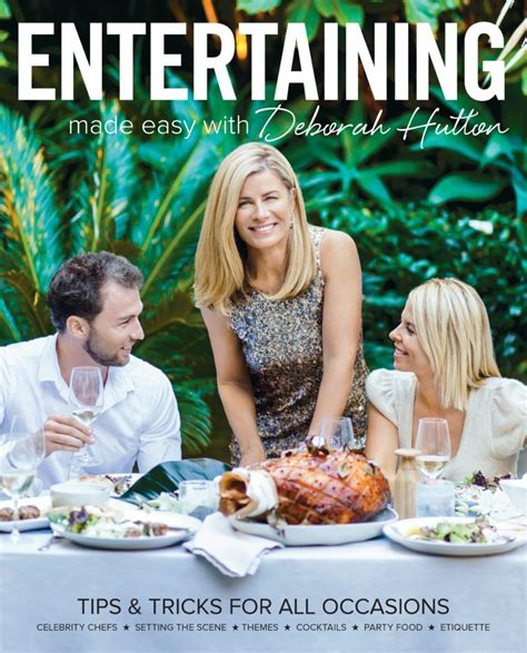 entertaining at home deborah hutton s 5 top tips for entertaining tip 2