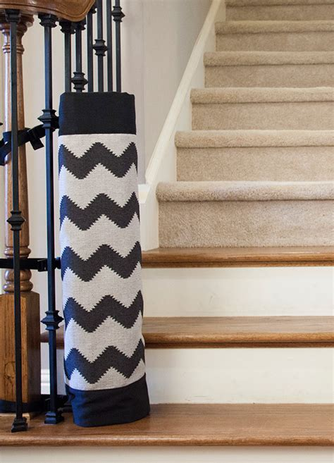 Baby Gates For Stairs With Banisters The Stair Barrier A Better Option For The Bottom Of The