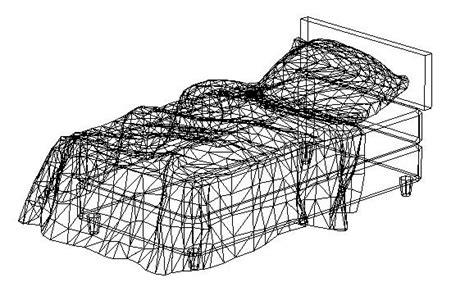 letto 3d dwg blocchi autocad letto in 3d formato dwg