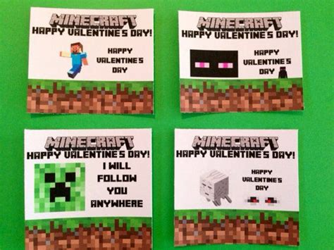diy minecraft valentines discover and save creative ideas