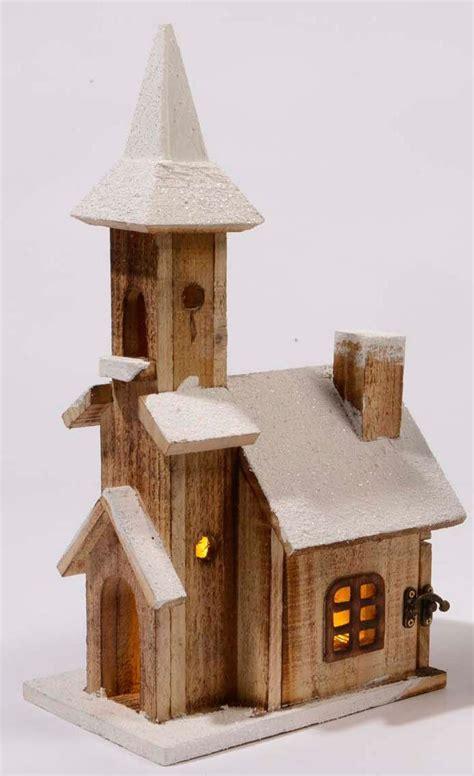 cm house rustic wooden christmas village decoration   warm white leds amazoncouk