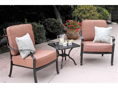 darlee st cruz cast aluminum patio swivel bar stool darlee outdoor living st cruz cast aluminum lounge set