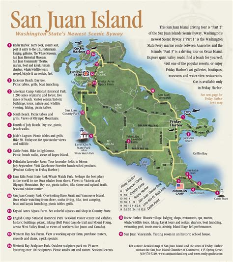 washington state ferries map san juan islands map