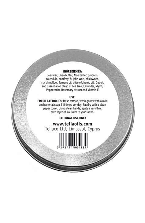 natural tattoo aftercare aftercare balm healing protection all