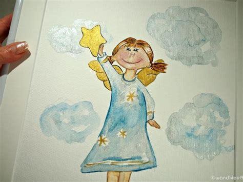 bild kinderzimmer schutzengel schutzengel bild gerahmt originalbild kinderzimmer