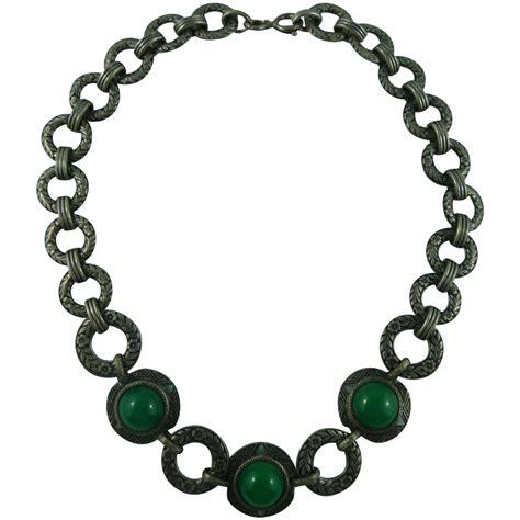 Lovely Necklaces by Lovely Deco Green Necklace From Hiptobeold On Ruby