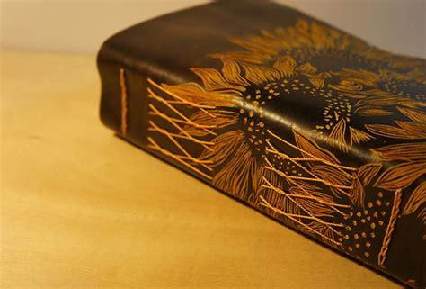 Putri S Journal Notebook Custom A5 handmade a5 sunflower custom vintage notebook travel book