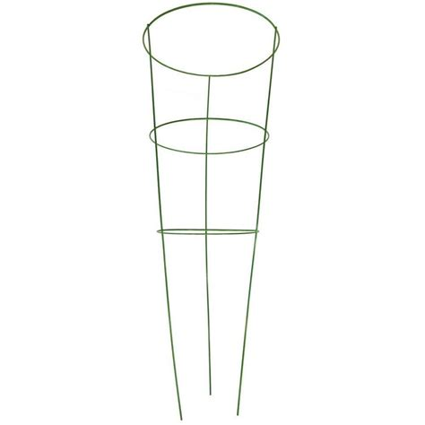 g b 42 in heavy duty green tomato cage 901594gr the