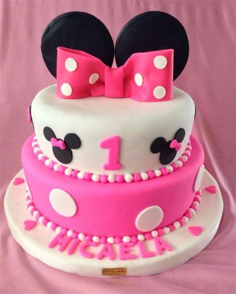 decoracion de tortas con crema de minnie tortas infantiles de la minie mouse s 60 00 en mercado