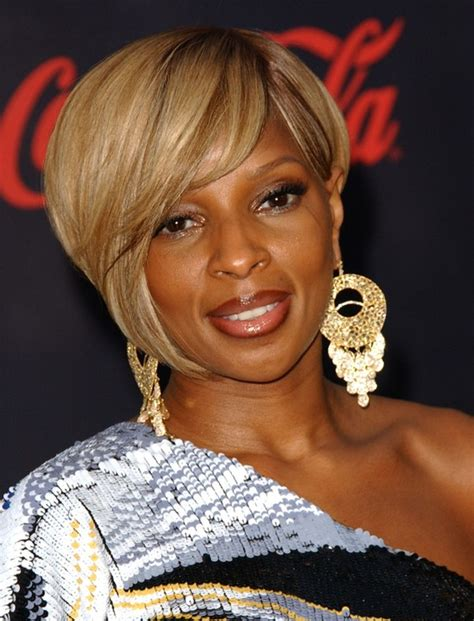 mary j blige hairstyles pictures 25 cool stylish bob hairstyles for black women