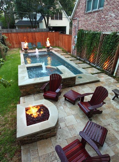 pools in small backyards best 25 small backyard pools ideas on