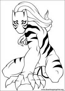 jogo homem aranha nova tigresa punho ferro desenhos colorir imprimir pintar