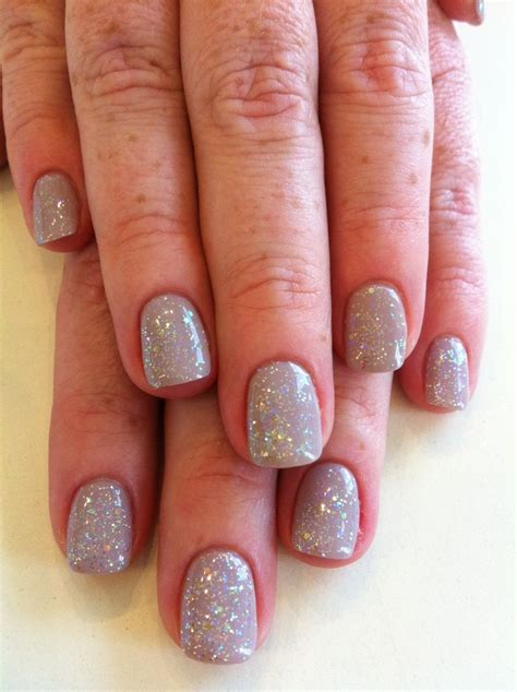 Bio Sculpture Nails by Bio Sculpture Gel Colour 153 Marilyn With Iridescent