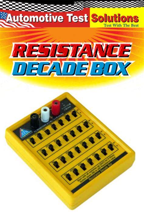 resistance decade boxes definition ats resistance decade box dec1000