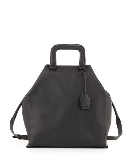 News Web Weekly Up Ebelle5 Handbags Purses 3 by 3 1 Phillip Lim Wednesday Trapezoid Tote Bag Black