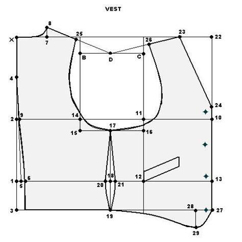 pattern making vest menswear weekend designer