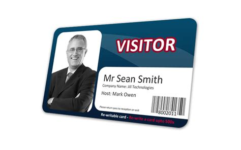 visitor the how and visitor re write id cards cost effective visitor control