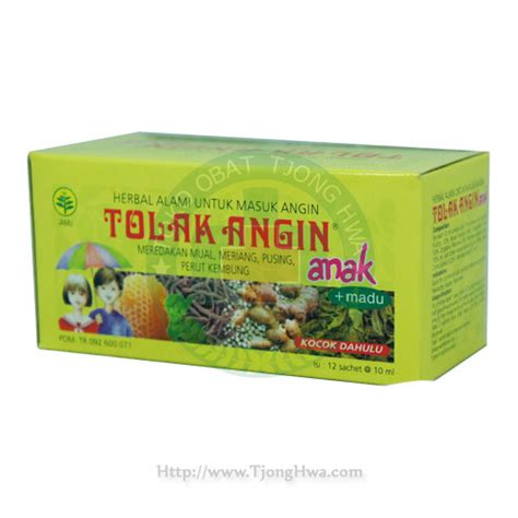 Tolak Angin Anak Cair Sachet Madu 10 Ml Obat Herbal tolak angin anak 10ml