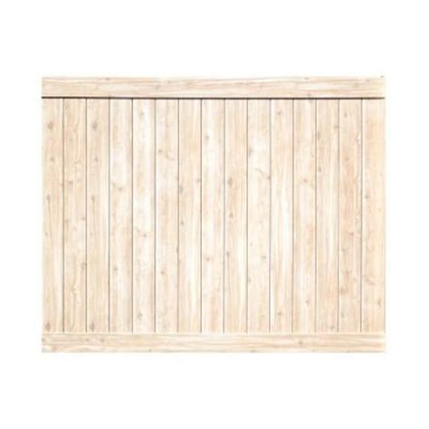 white wood fence home depot
