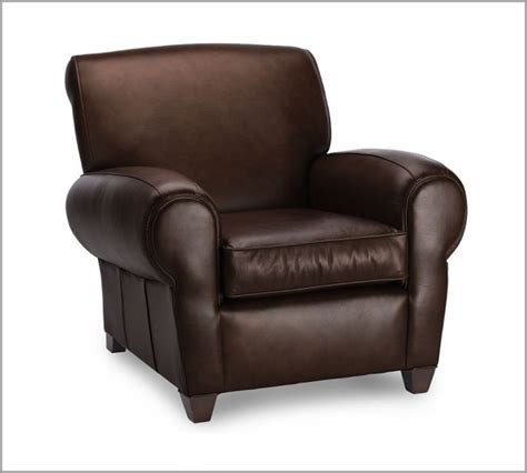manhattan leather club chair traditional armchairs and