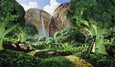 Landscape With Food Creative Food Landscapes Photoshop Design 19