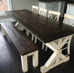 farmhouse style kitchen table best 20 farmhouse table ideas on diy