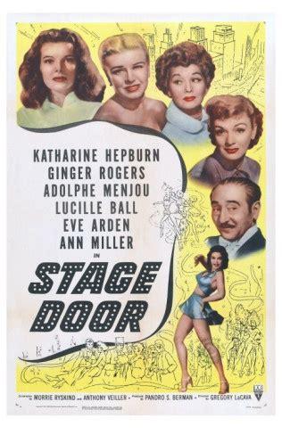 Stage Door 1937 by Stage Door 1937 Classic I Ve Watched