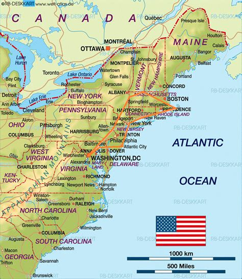 Map Of Eastern Us States by Roadtrip Recap East Coast Usa Fifty States One Day