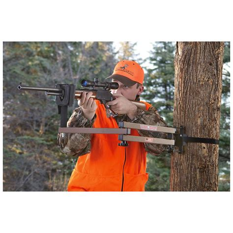 Shooting L by Oaksturdy Vital Gun Crossbow Tree Stand Rest 294094 Tree Stand Accessories At
