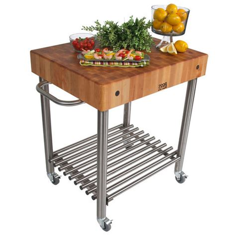 butcher block kitchen islands carts john boos john boos cucina damico kitchen cart withbutcher block top