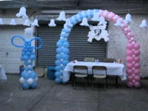 decoracion de globos para bautizo decoracion de globos para bautizo globos con helio decoracion con globos bautizo de ni 209 a y ni 209 o