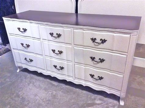 9 Drawer Provincial Dresser by Permacraft Provincial 9 Drawer Dresser White