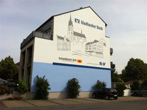 gladbacher bank joeres werbetechnik partner kunden schaufensterwerbung
