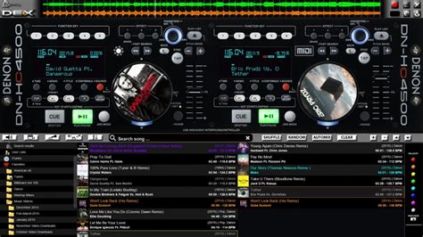 pcdj dex 3 dj software free download full version download the denon hc 4500 16x9 skin for pcdj dex 3 pcdj