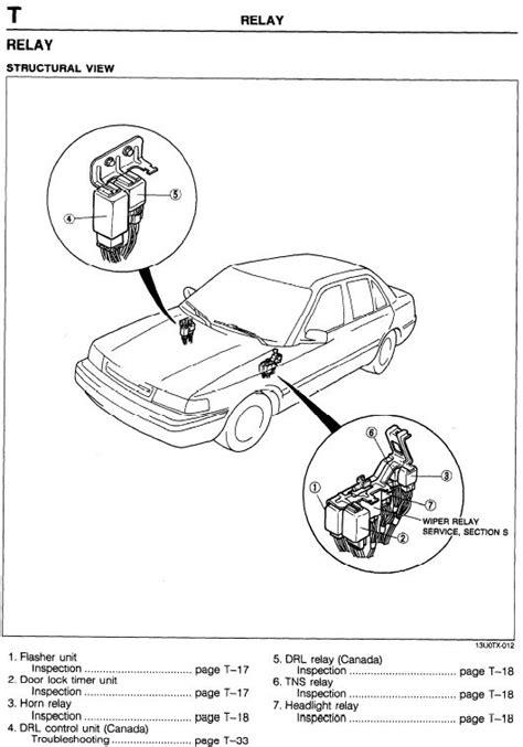 1991 mazda 626 wiring diagram pdf 1991 wiring diagram