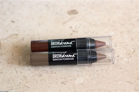 Maybelline Eyebrow Crayon review maybelline brow drama pomade crayon
