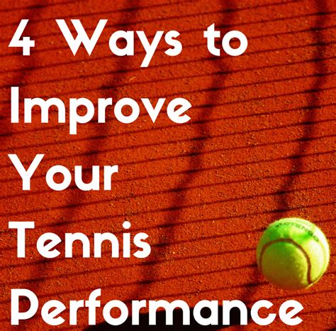 4 ways to increase your 4 ways to improve your tennis performance bon secours