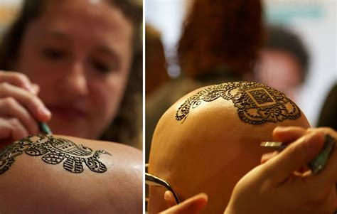 henna tattoo cancer henna crowns help cancer patients cope with