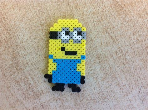 perler minion 1000 images about perles hama minion on