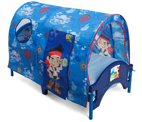 bed tent for toddler bed delta childrens jake and the neverland pirates tent