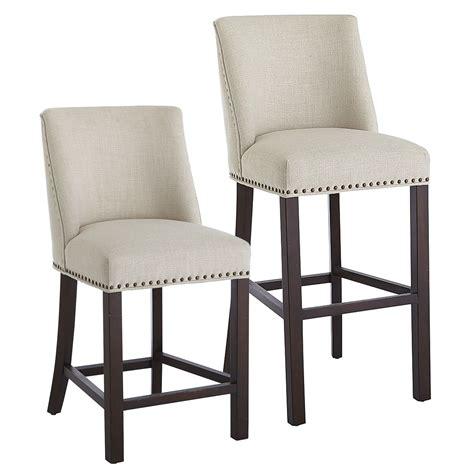 Corinne Linen Counter Stool corinne linen counter bar stool home makeover design