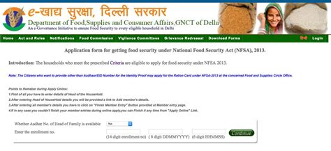how to make ration card in delhi how to apply for new ration card in delhi