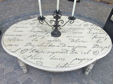 shabby chic outdoor table diy poem stenciled outdoor table shabby chic