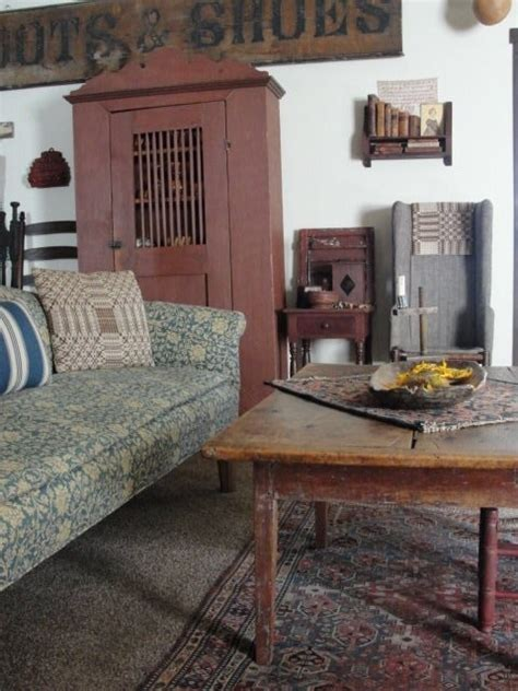 Primitive Living Room by Primitive Living Room Prim And Country Decor