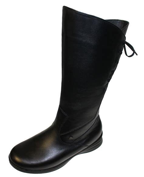 finn comfort boots finn comfort boots sestriere black soft nappa care woly