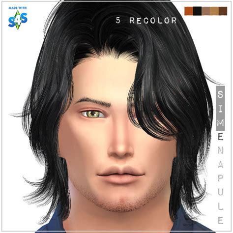 long hair for guys sims 4 cc simenapule beard 06 sims 4 downloads
